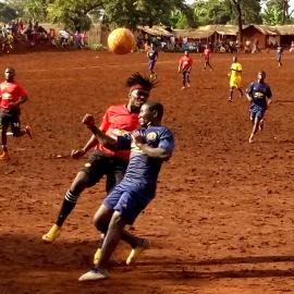 Champions League In Nyarugusu Refugee Camps